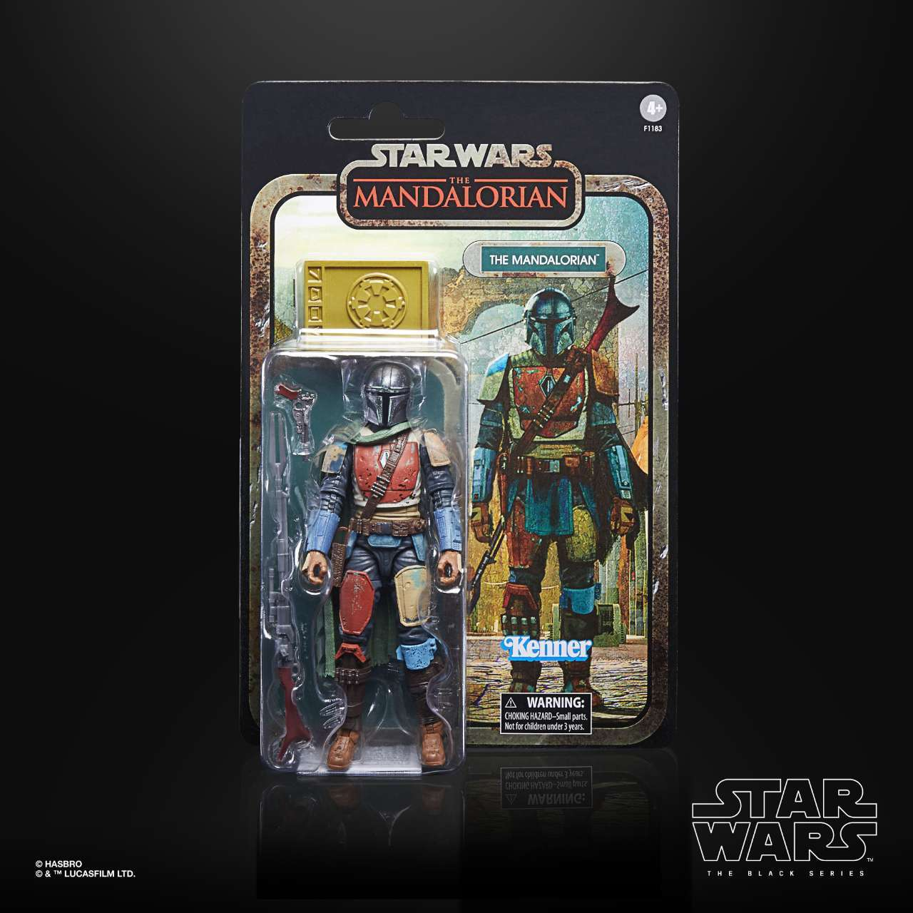 STAR WARS THE BLACK SERIES CREDIT COLLECTION 6-INCH THE MANDALORIAN Figure - inpck