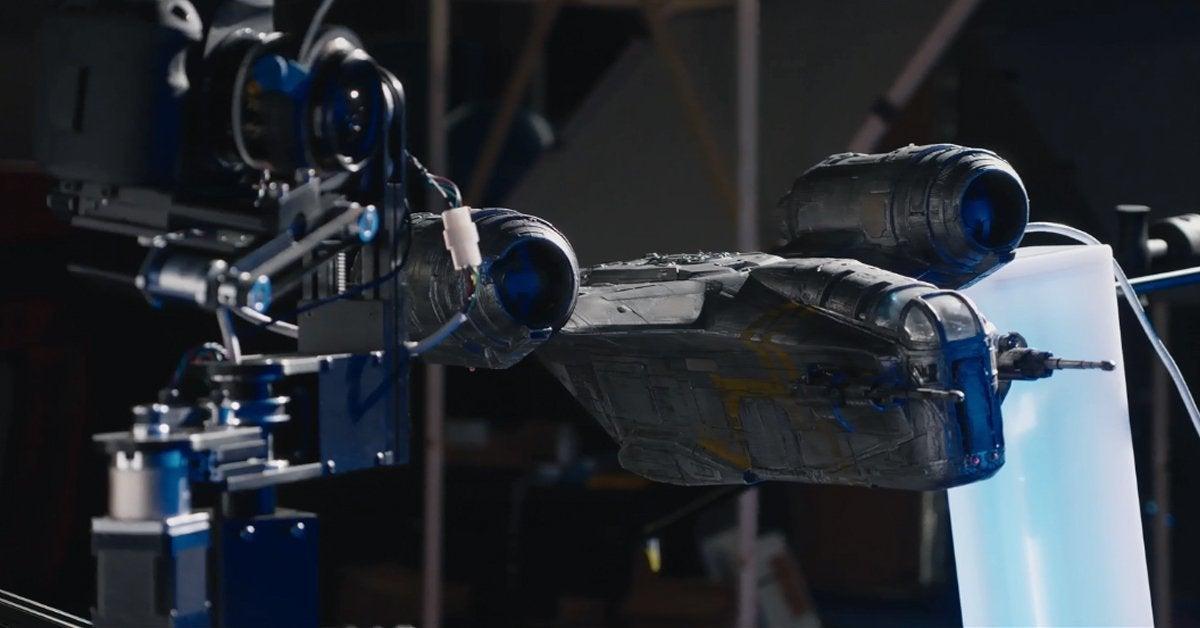 star wars the mandalorian razor crest ship visual effects