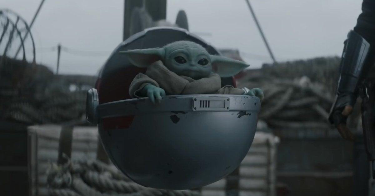 star wars the mandalorian season 2 trailer baby yoda