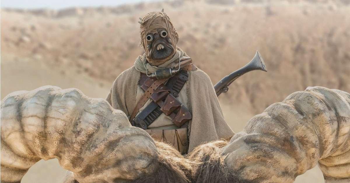 star wars the mandalorian season 2 tusken raider tatooine