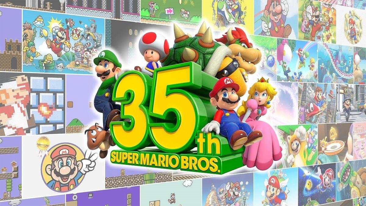 Super Mario 35th Anniversary Celebration