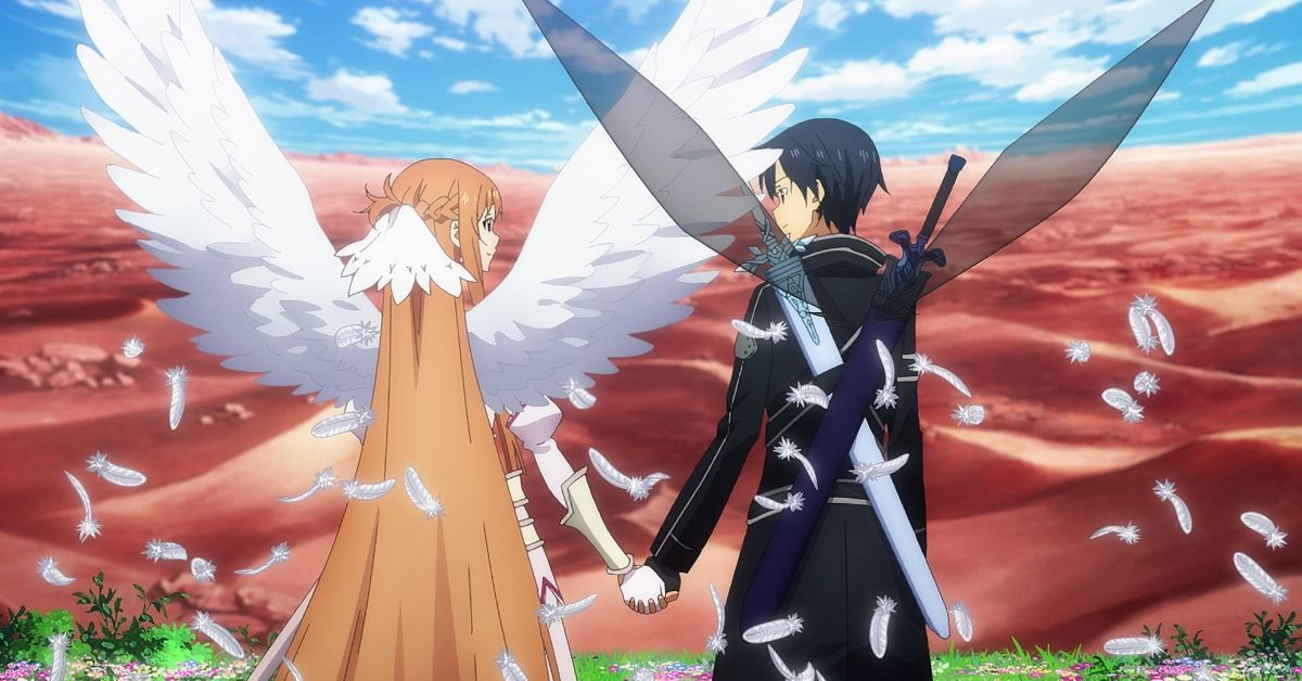 Sword Art Online Kirito Asuna Post Credits Scene Underworld Update