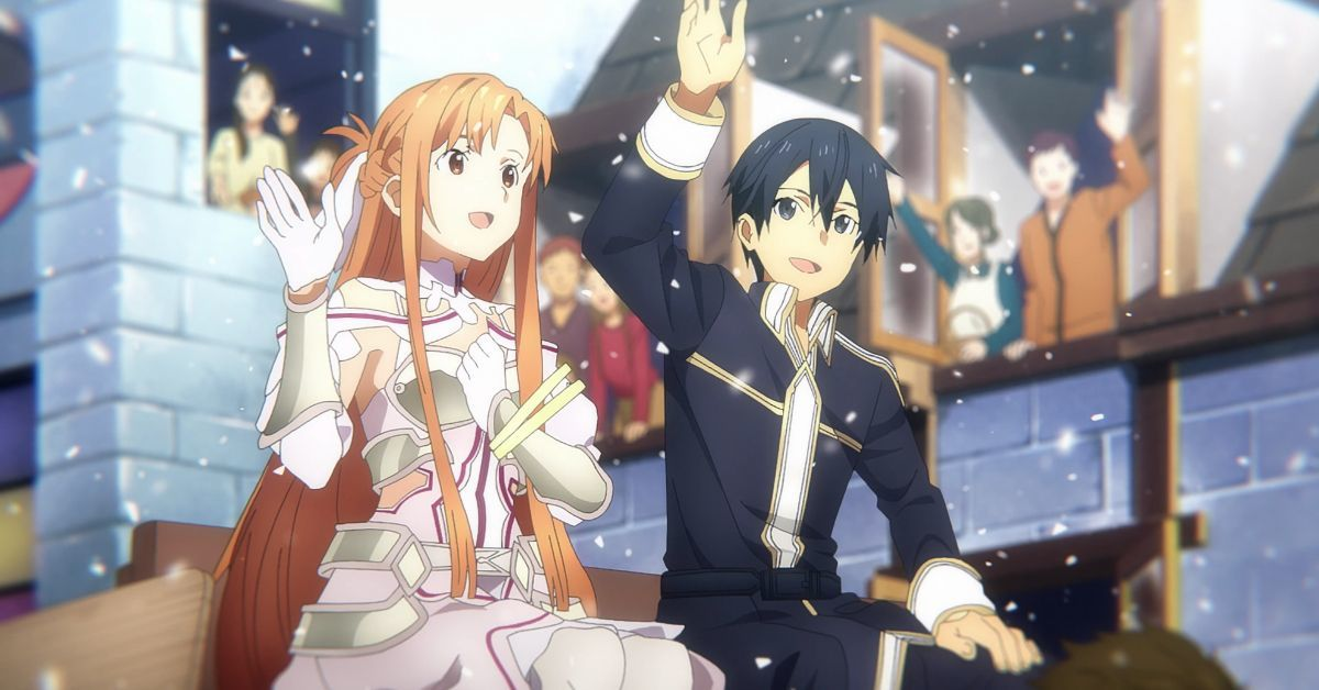 Sword Art Online Kirito Asuna Underworld King Queen 200 Years Revealed