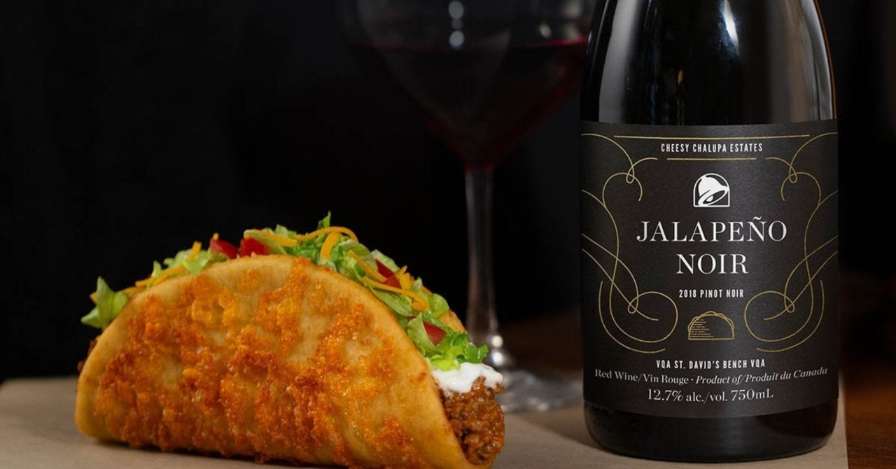 Taco Bell is Now Selling Its Own Wine