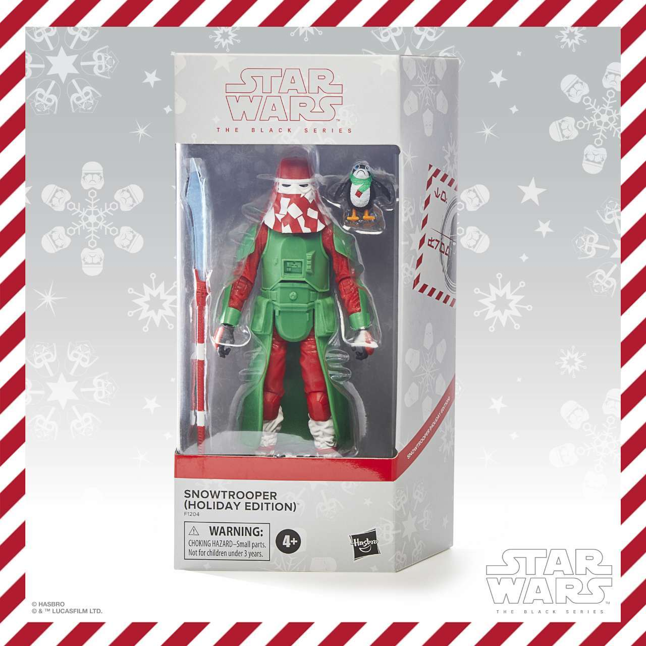TBS HOLIDAY SNOWTROOPER - in pck