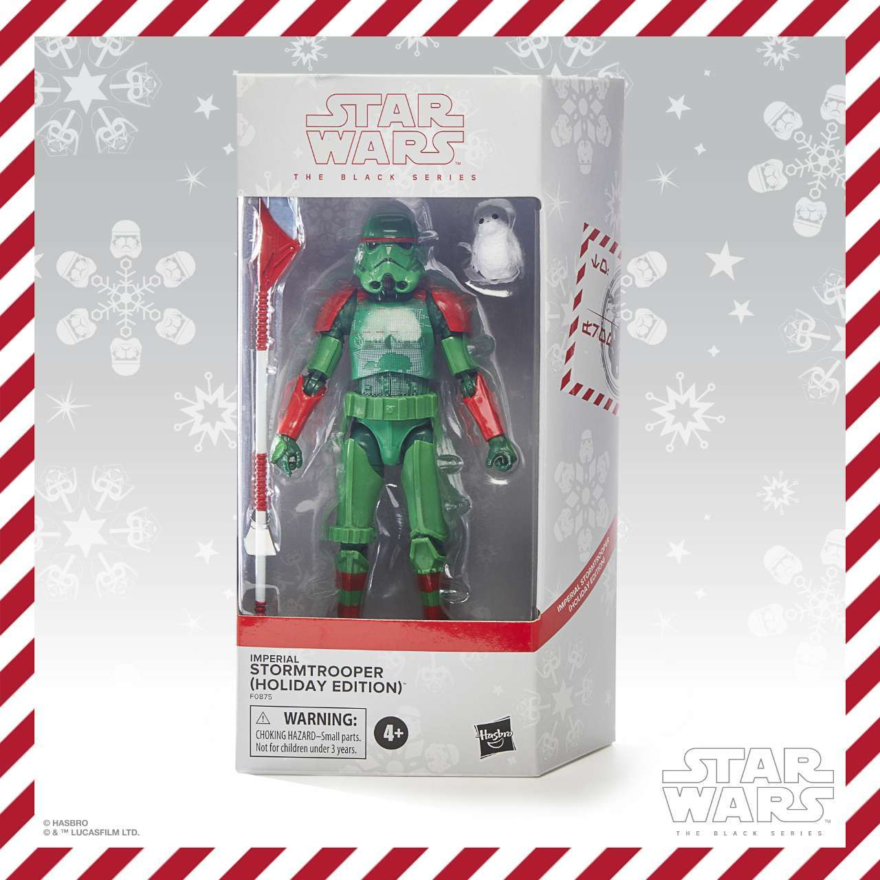 TBS HOLIDAY STORMTROOPER - in pck