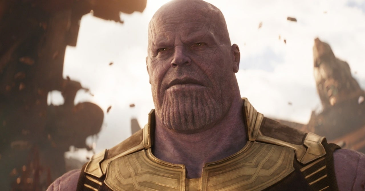 Marvel Fan Knits Life-Sized Thanos and It Is Massive