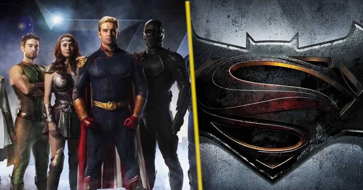 the boys batman v superman parody