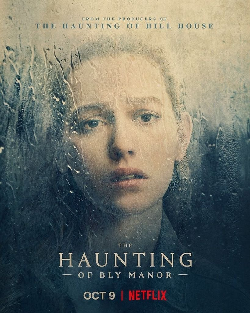 the haunting of bly manor poster victoria pedretti