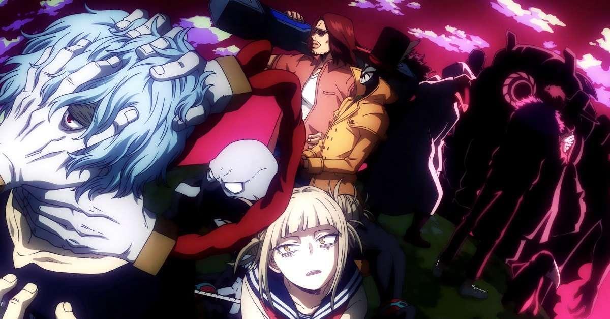 The League of Villains Shigaraki