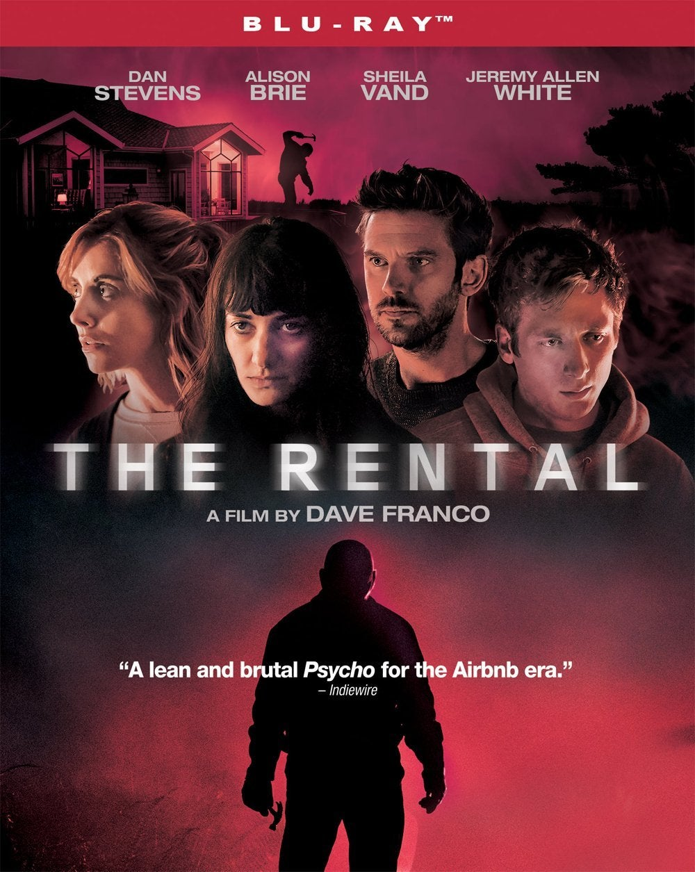 the rental movie blu ray cover