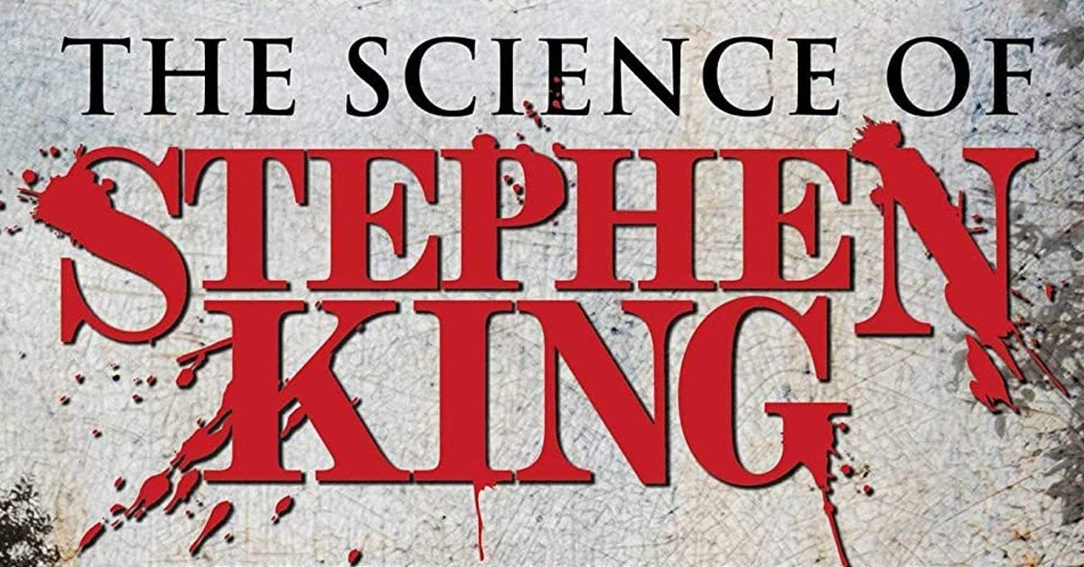 the science of stephen king book cover