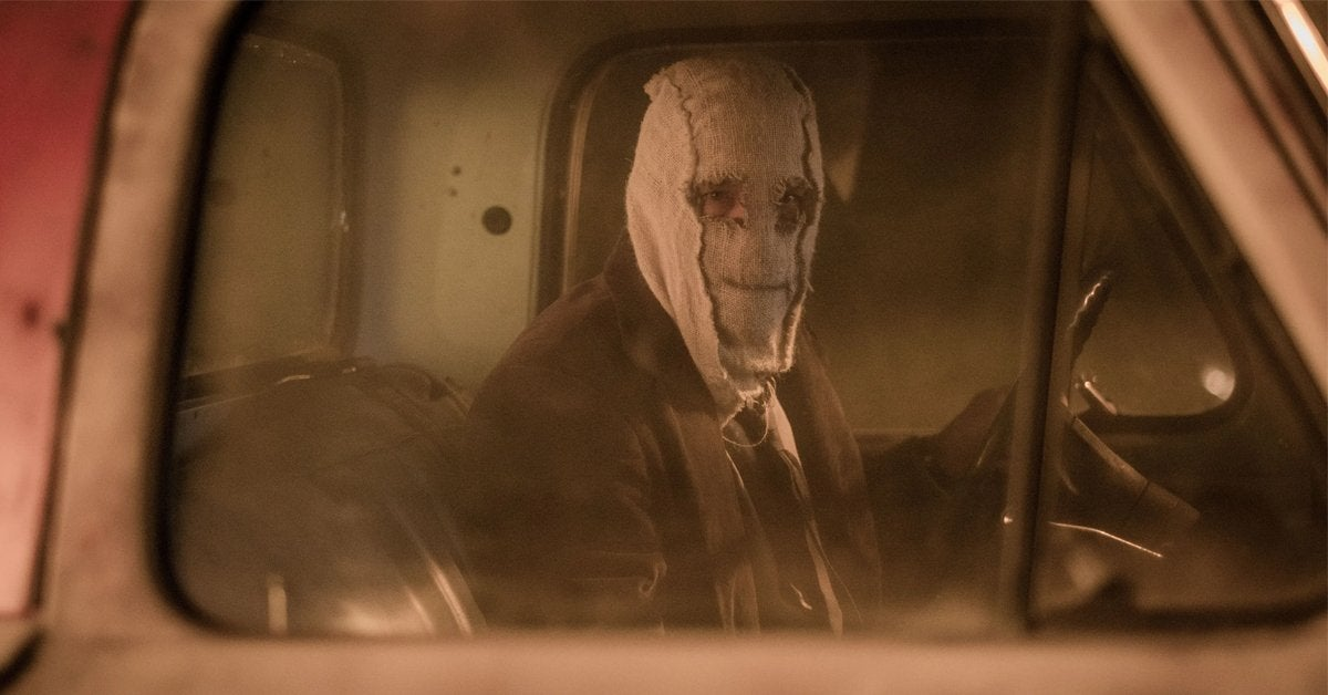 the strangers prey at night mask car truck