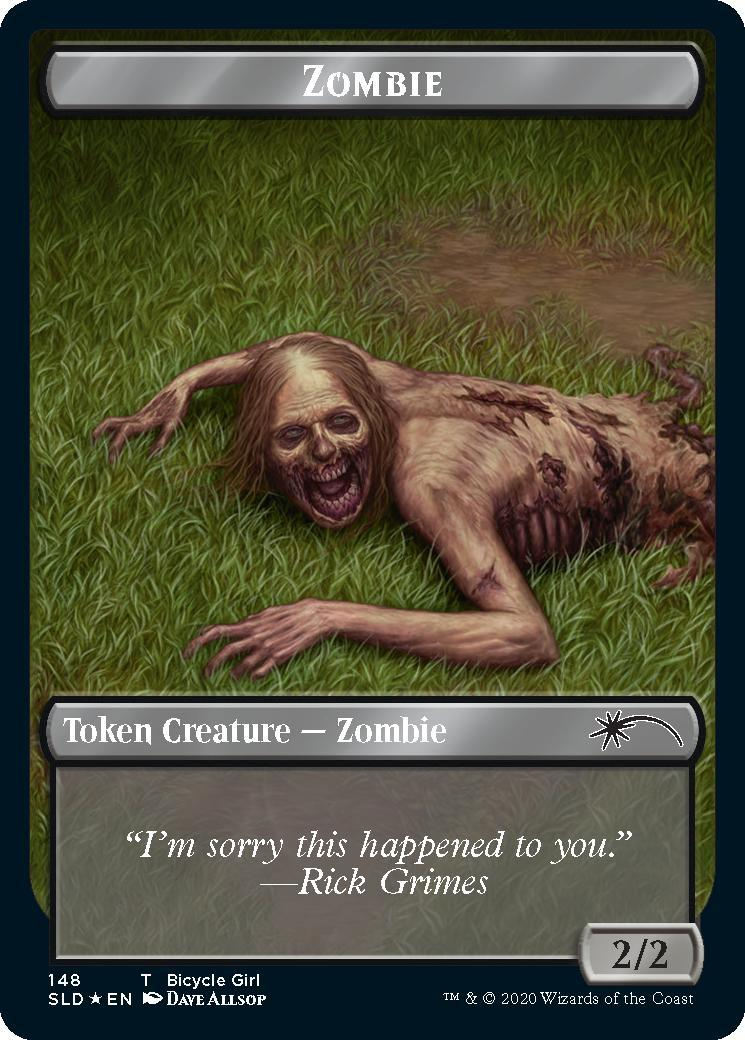 The Walking Dead - Bicycle Girl Token (1)