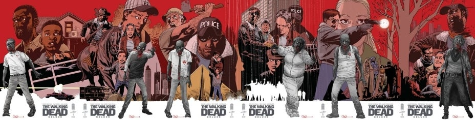 The Walking Dead Deluxe connecting covers