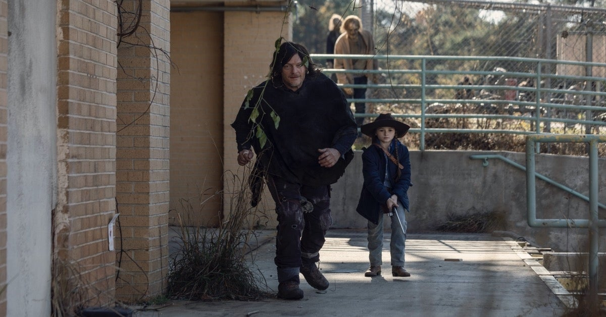 The Walking Dead Season 10 finale Norman Reedus Cailey Fleming