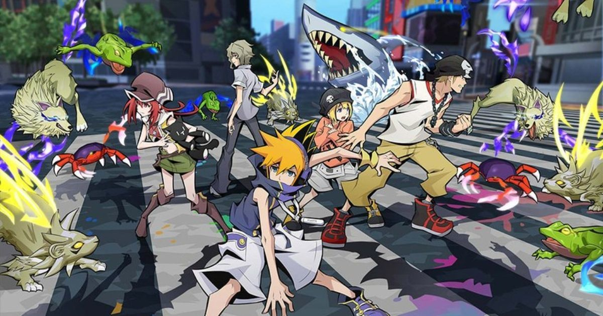 The World Ends With You Anime Poster