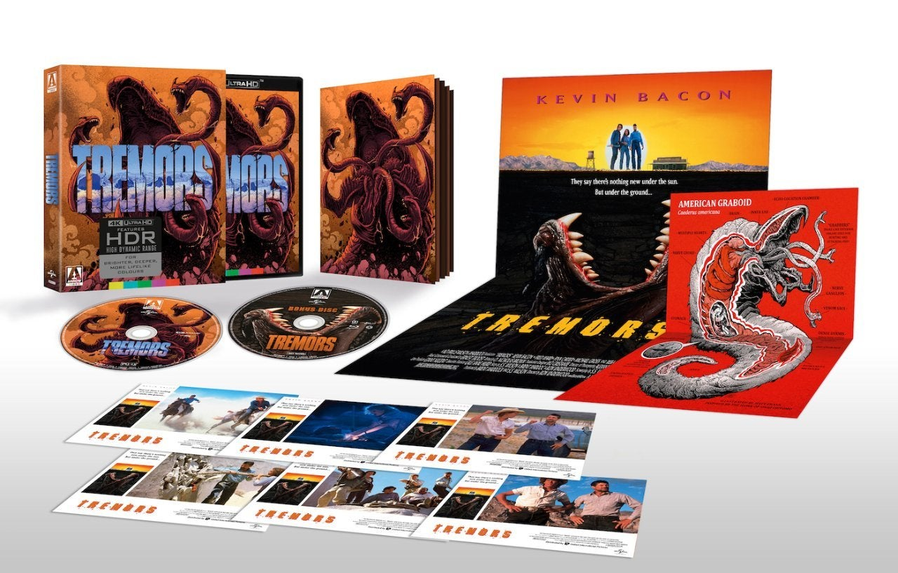 tremors blu ray 4k ultra hd arrow video features