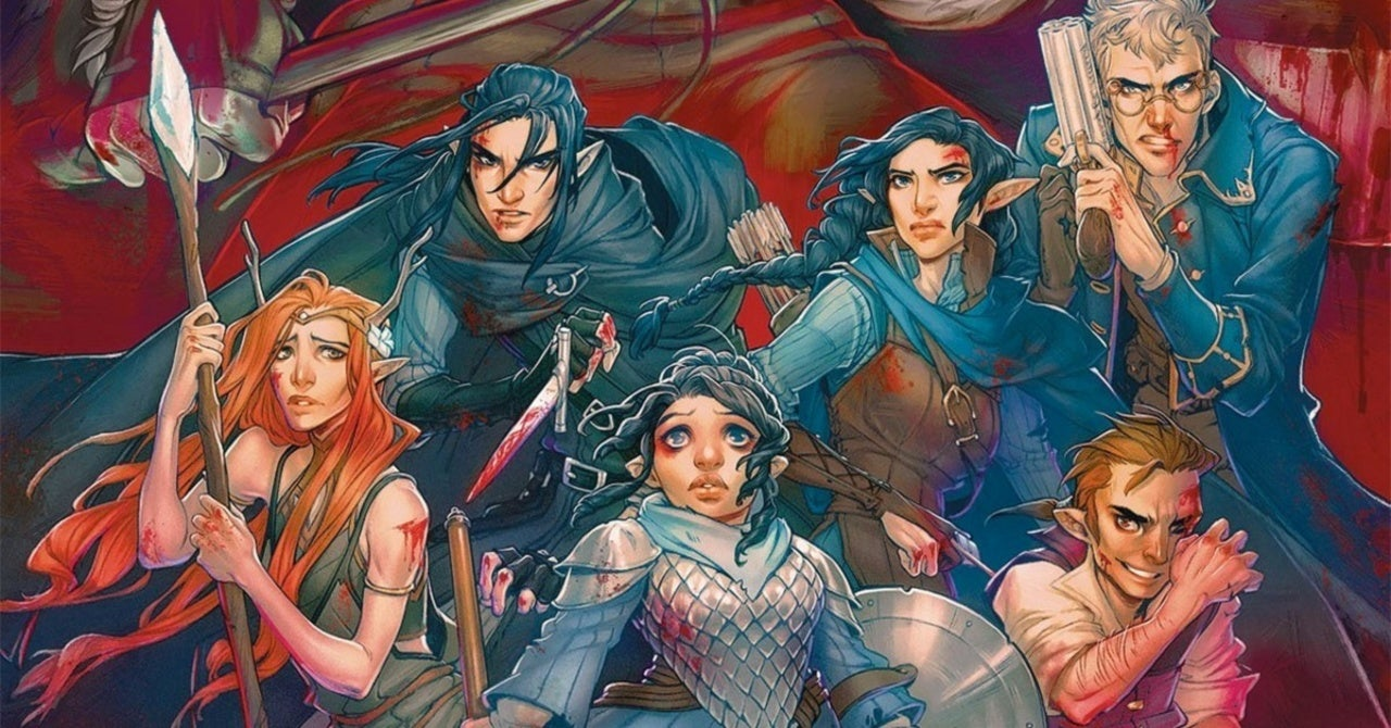 New Critical Role Comic Hits Shelves in December