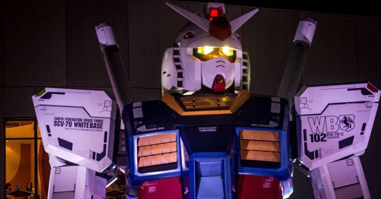 Japan's Moving Gundam Reschedules Official Debut Date