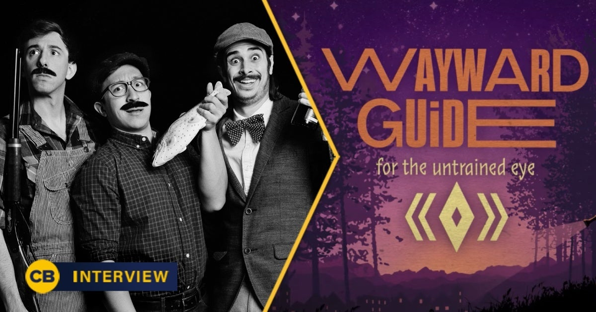 wayward guide for the untrained eye interview header