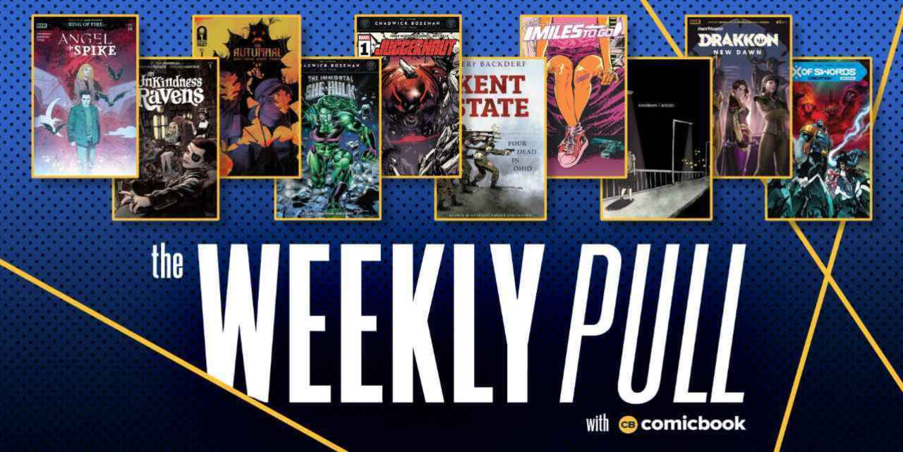The Weekly Pull: X of Swords, Immortal She-Hulk, Angel Spike, and More