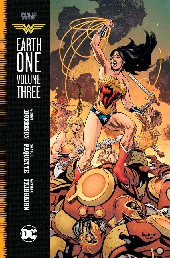 wonder woman earth one vol 3 cover