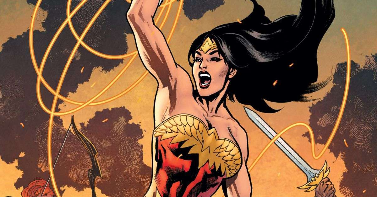 wonder woman earth one volume 3 cover