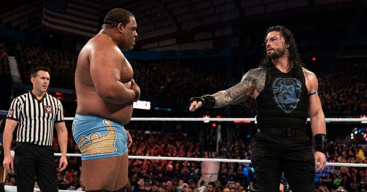 WWE Keith Lee Roman Reigns