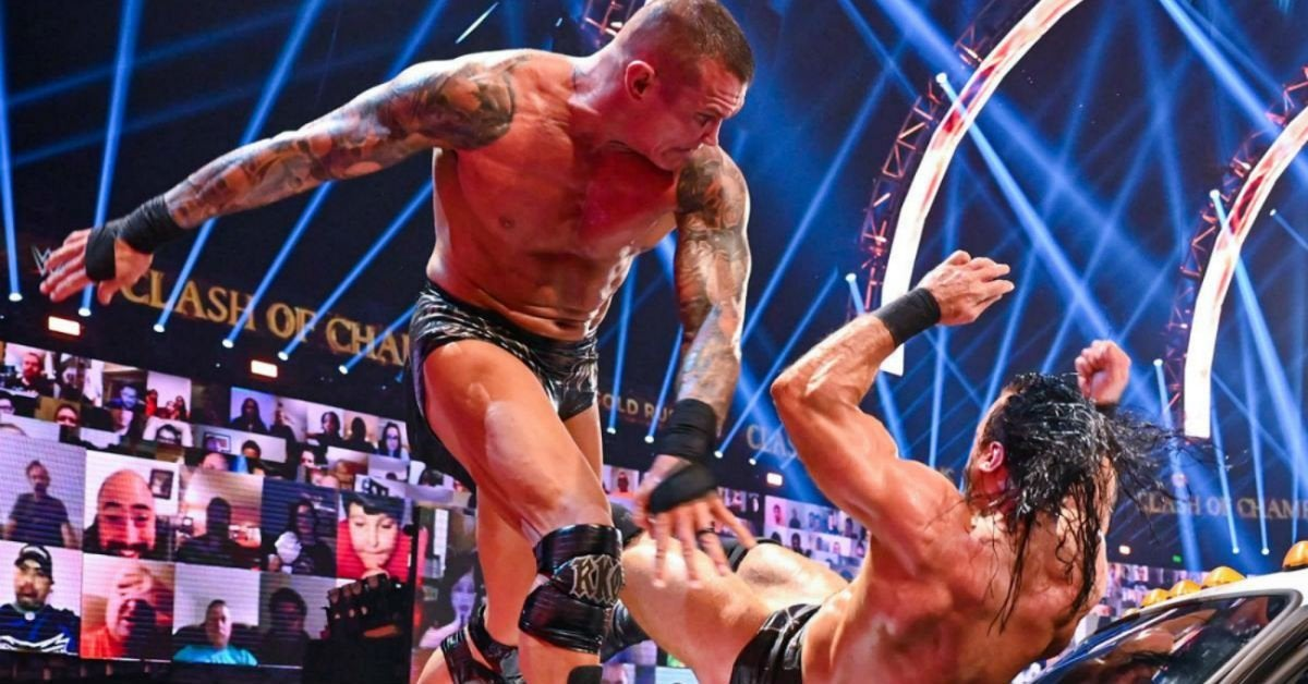 WWE-Randy-Orton-Drew-McIntyre-ambulance