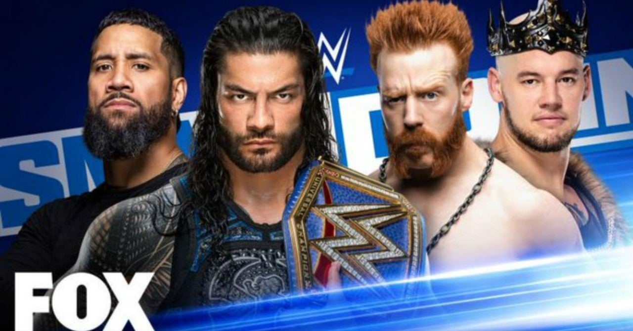 Samoan Street Fight Booked for This Week's WWE SmackDown
