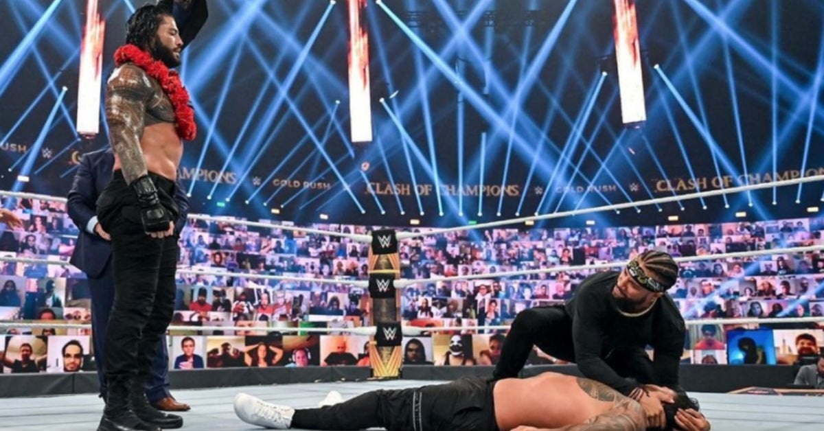 WWE-Roman-Reigns-The-Rock-Jey-Uso-Clash-of-Champions