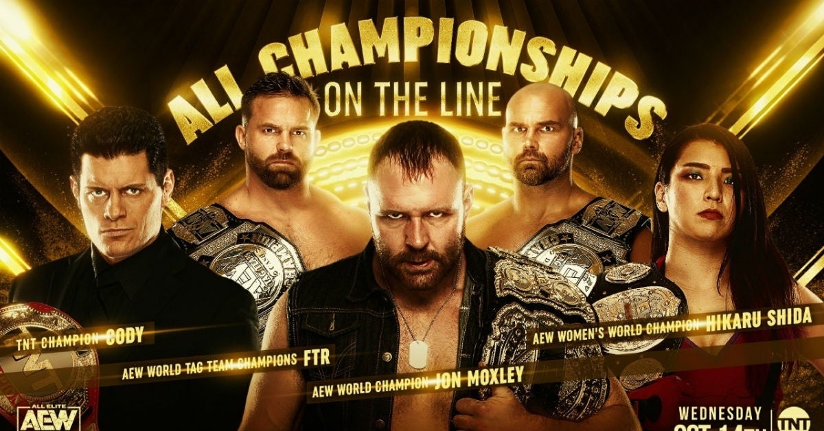 AEW-All-Championships