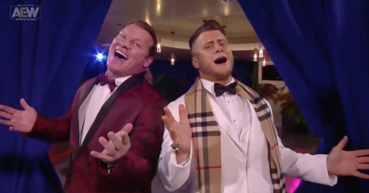 AEW-Chris-Jericho-MJF-Le-Dinner-Debonair