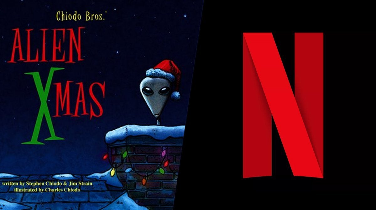 alien xmas special netflix chiodo brothers