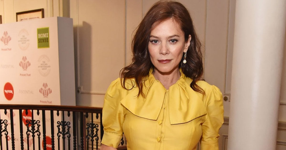 anna friel getty images
