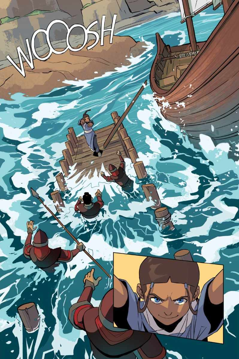 Avatar The Last Airbender Katara and the Pirate's Silver 1