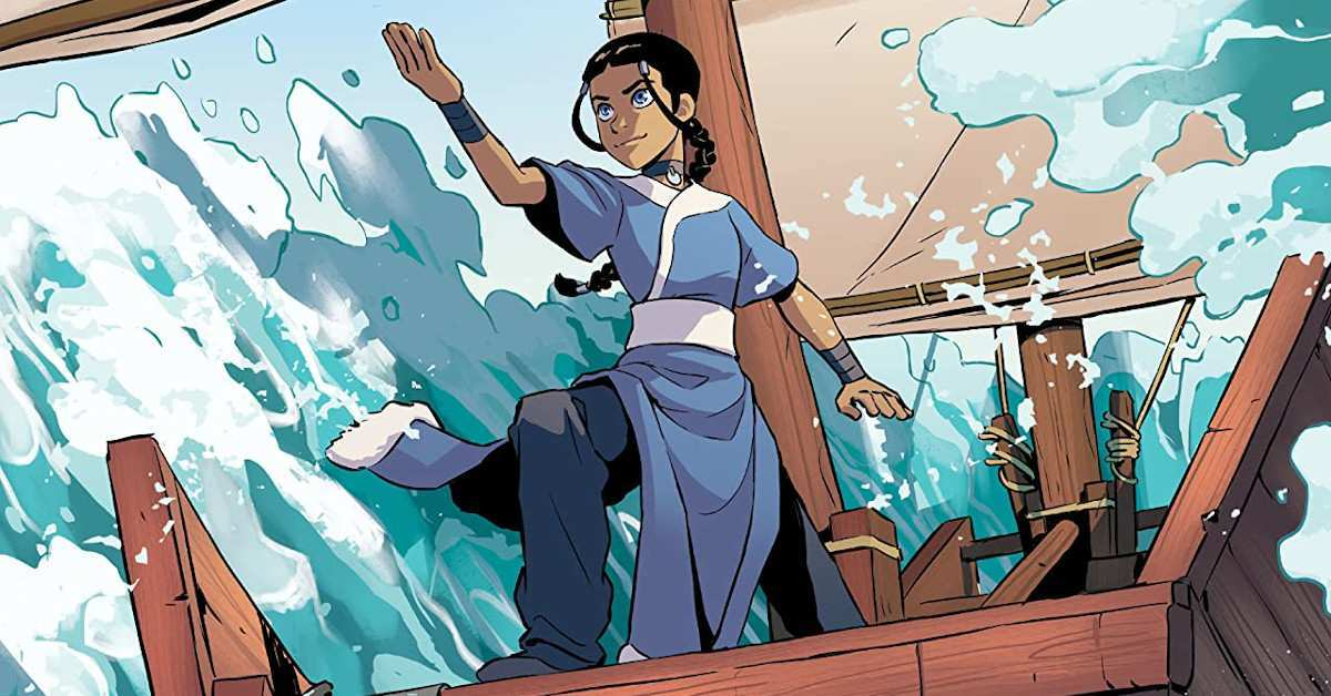 Avatar the Last Airbender Katara and the Pirate's Silver