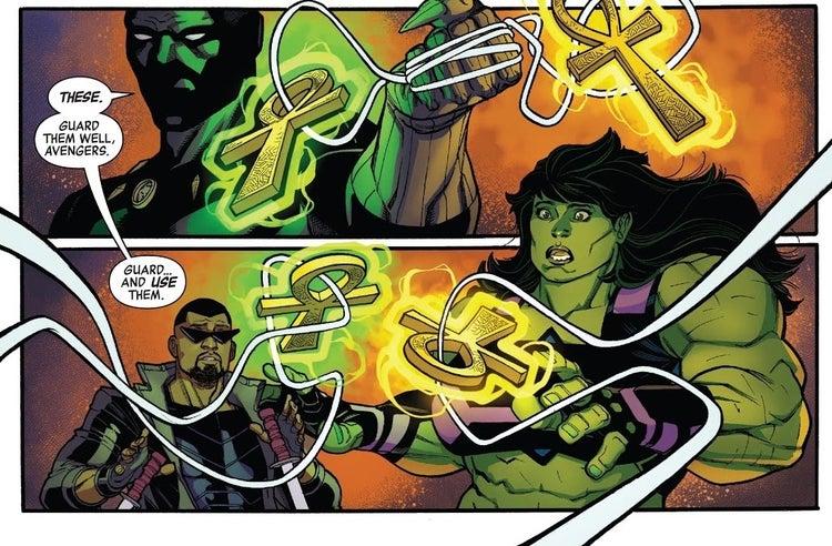 avengers 37 iron fist she hulk doctor strange blade 1