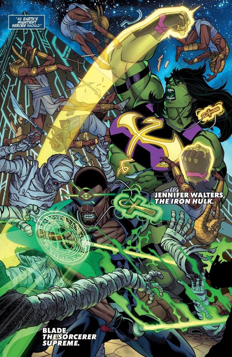 avengers 37 iron fist she hulk doctor strange blade 2