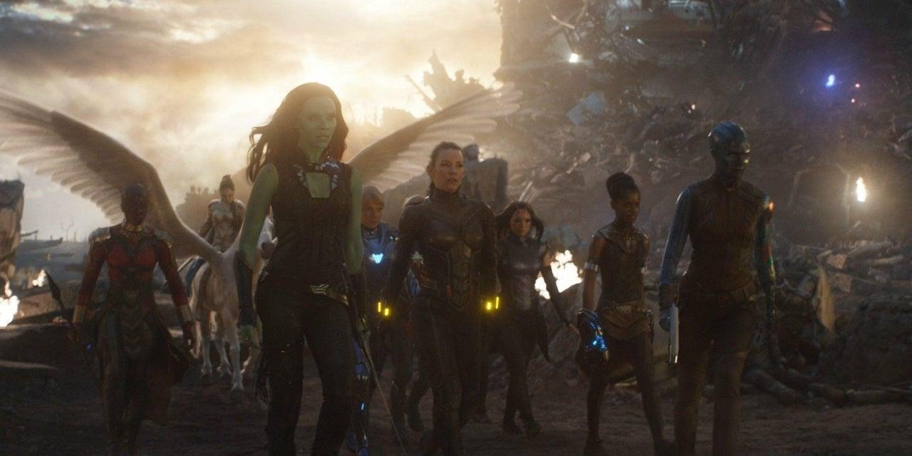 avengers endgame a force scene