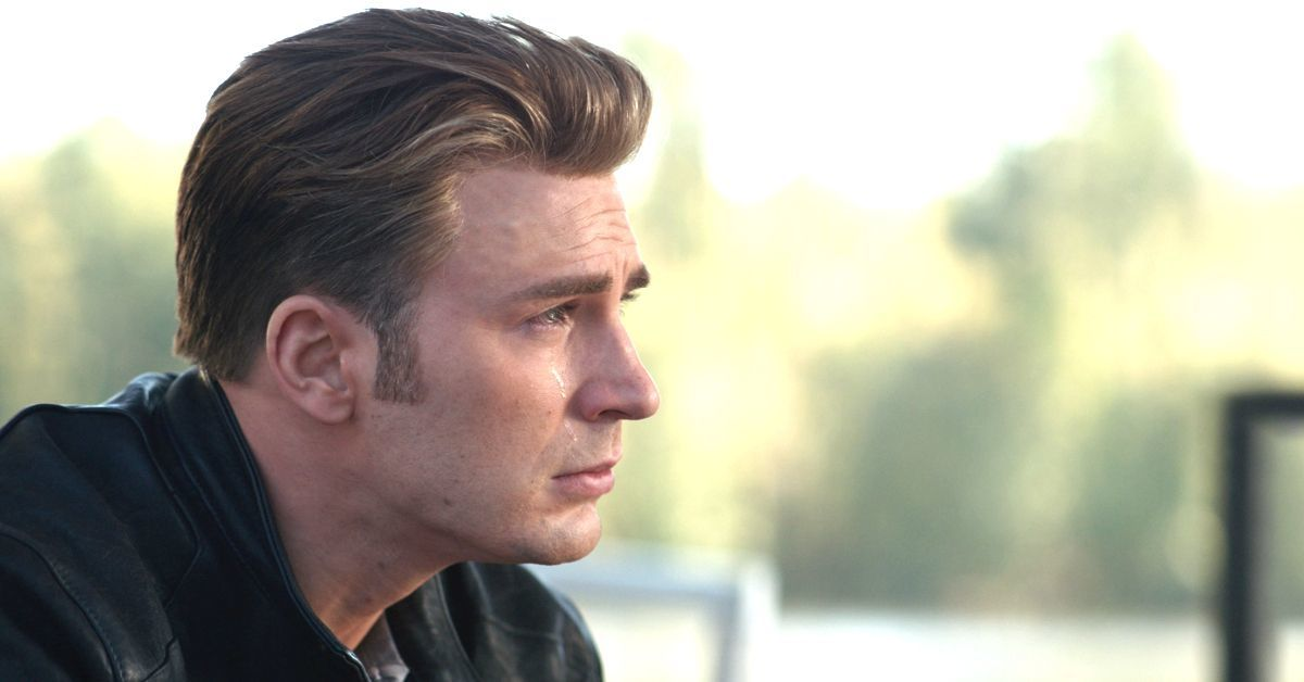 avengers endgame captain america crying chris evans