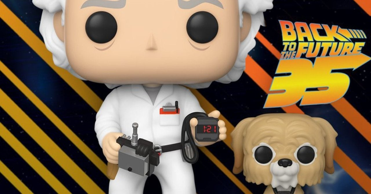 Funko Launches Exclusive Pops for Back to the Future Day 2020