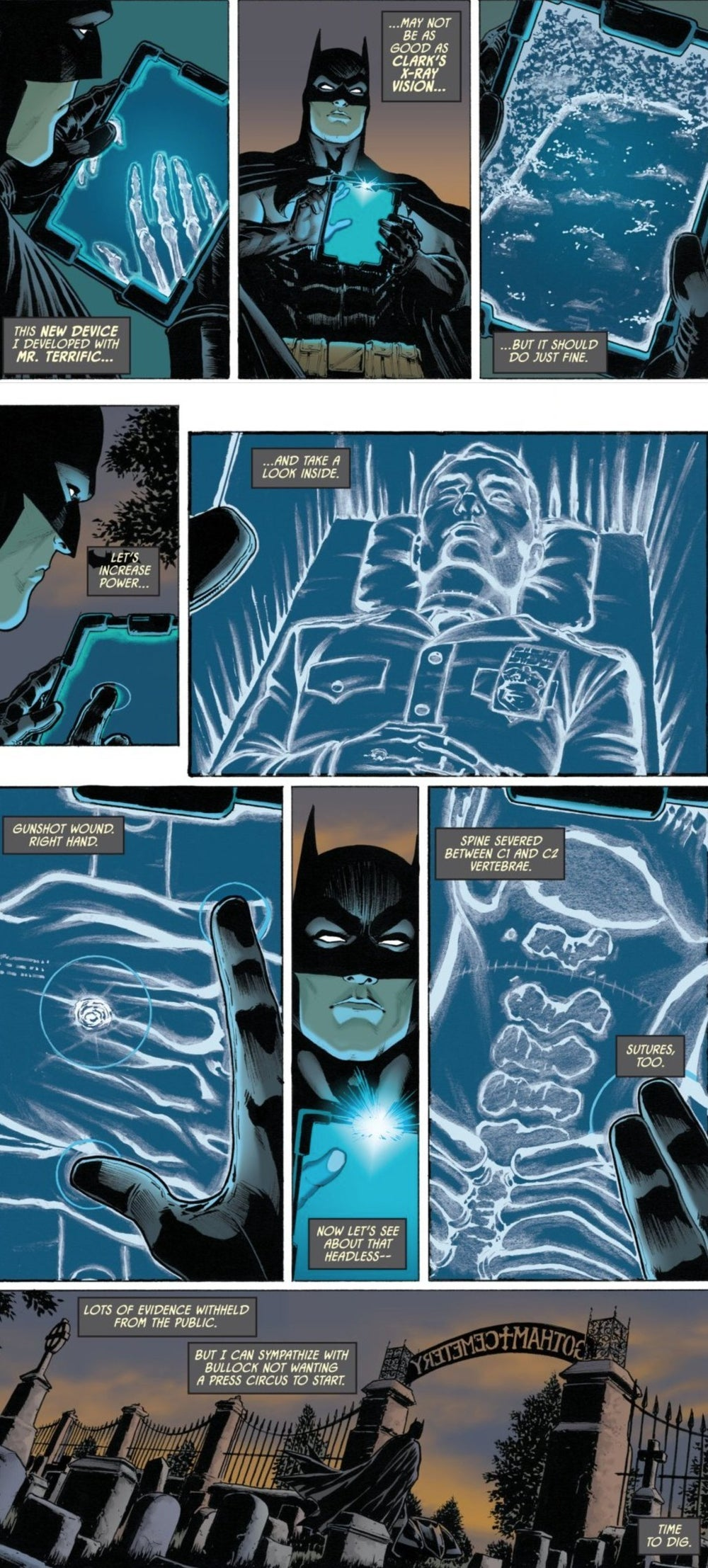 Batman Superman X Ray Vision DC Detective Comics Spoliers
