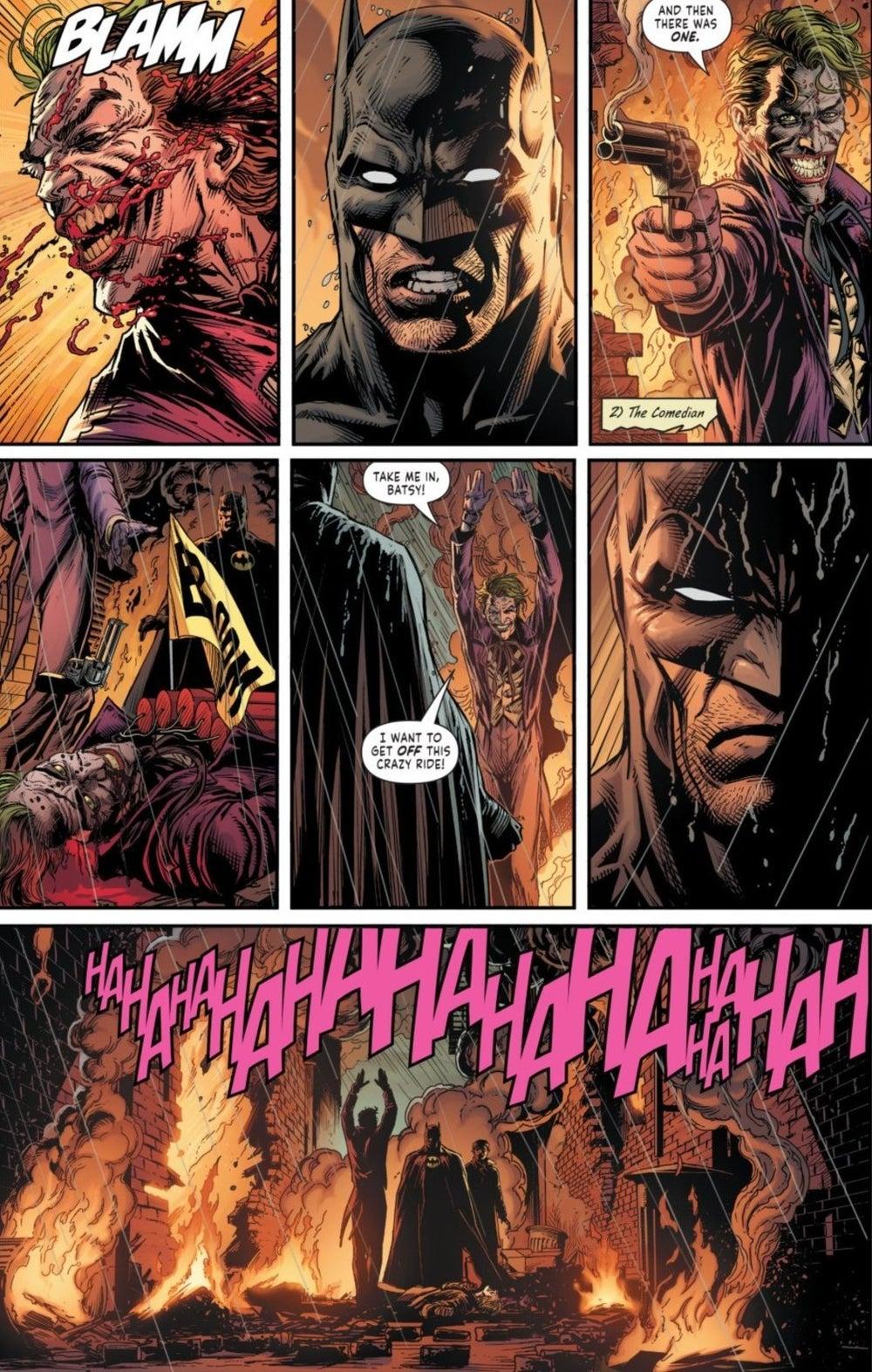 Batman Three Jokers Ending Who Is Real Joker Explained