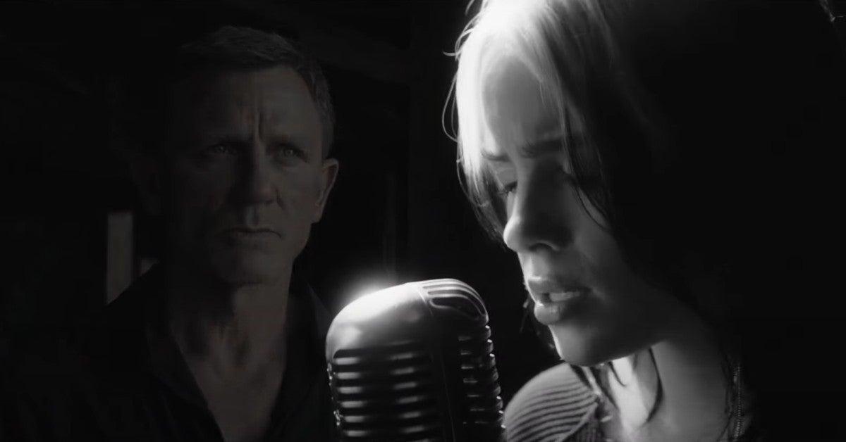Billie Eilish James Bond No Time to Die Music Video