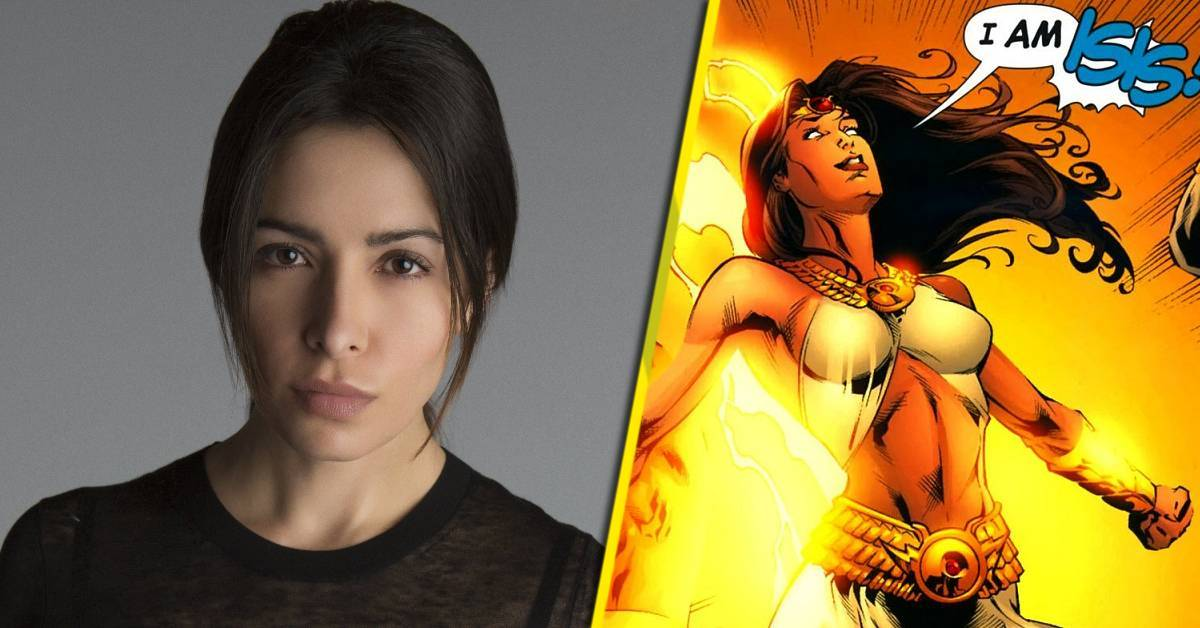 black adam isis casting sarah shahi person of interest
