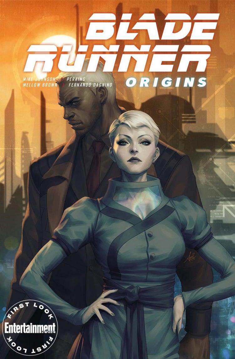 blade runner origins #1 cover