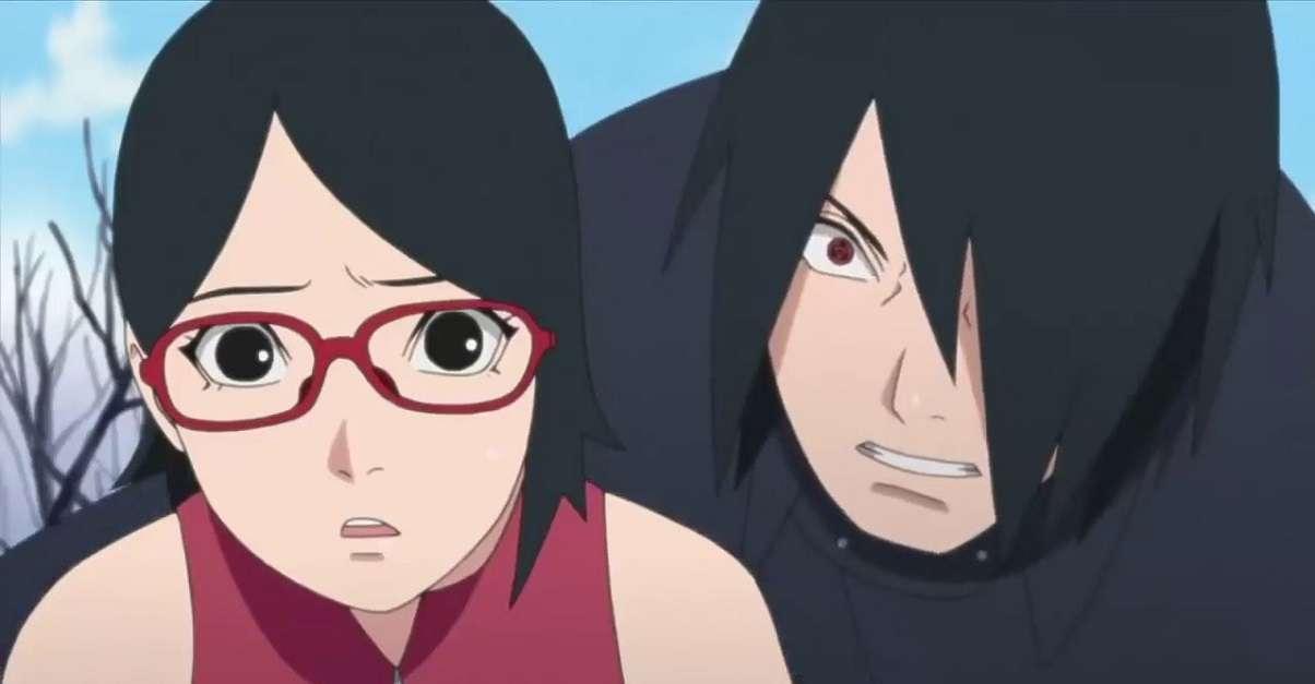 Boruto Naratuo Sarada Sasuke