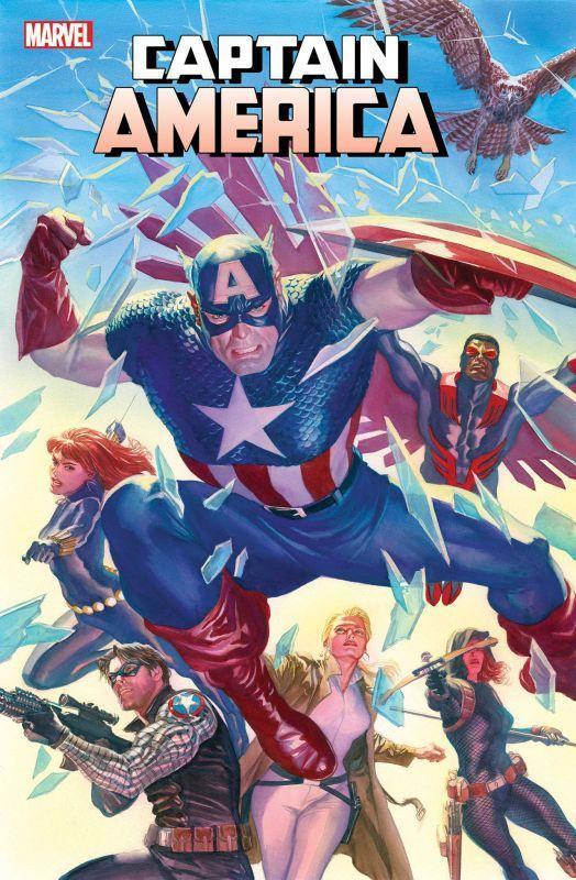 captain america #25 cover